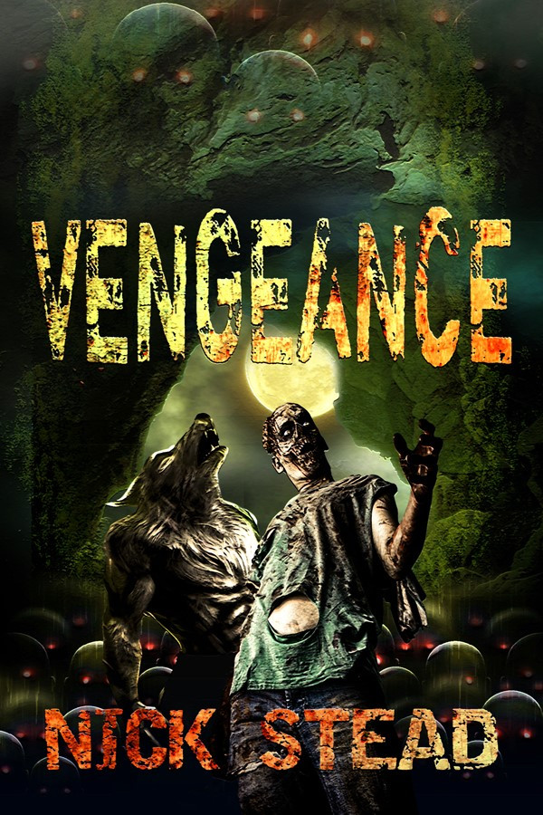 Vengeance (hybrid series book 3) book cover